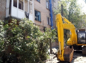 Начался снос взорвавшегося дома на проспекте Университетском в Волгограде