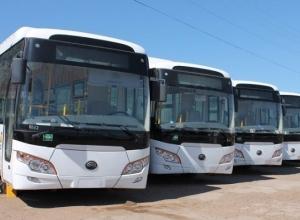 30 новых автобусов прибыли в Волгоград для «спасения» горожан