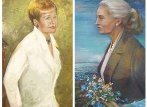 Портреты Пахмутовой и Агашиной подарила волгоградскому музею известный российский художник