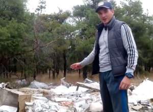 Свалку с опасными шприцами и капельницами обнаружили в лесу на севере Волгограда