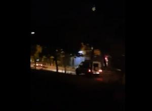 Волгоградцы сняли на видео погоню ГИБДД за «девяткой» в Красноармейском районе Волгограда