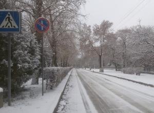 Новая неделя начнется в Волгограде с мокрого снега и тумана