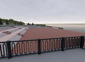 На центральной набережной Волгограда сносят ветхие конструкции