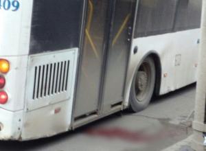 ВПАТП-7: Автобус переехал волгоградку, когда она пыталась вскочить в заднюю дверь