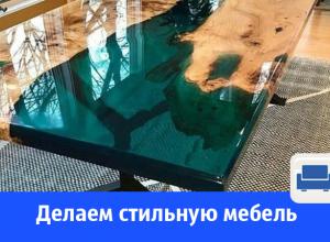 Стильная мебель с использованием жидкого стекла под заказ