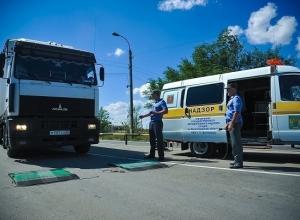 Фуры не смогут ездить по дорогам Волгоградской области больше месяца