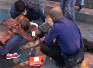 Пенсионер упал с тротуара под колеса ПАЗа на севере Волгограда