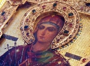 Мироточащая икона Богородицы «Умягчение злых сердец» прибудет в Волгоград из Москвы