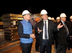 Приезжие сенаторы ищут плюсы и минусы в строящемся стадионе «Волгоград Арена»