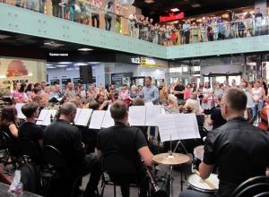 Музыканты устроят грандиозные флешмобы в торговых центрах Волгограда