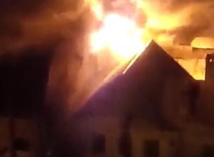Пожар в частном доме в Дзержинском районе Волгограда локализован