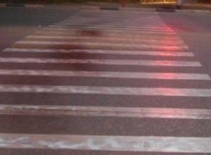 Сбитый на «зебре» пешеход потерял литр крови в Волгограде