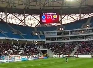 Первый матч на новом стадионе «Ротор Волгоград» завершил со счетом 4:2