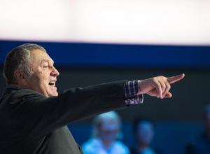 Владимир Жириновский рассуждал в Волгограде о том, как правильно рожать детей