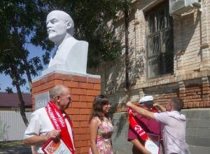 В Волгоградской области открыли еще один памятник Ленину