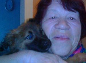78-летняя жительница Волгограда ищет помощника для прогулок с любимой собакой
