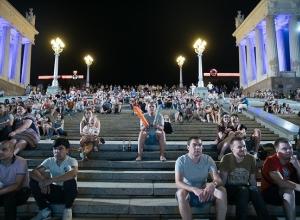 4 июля фан-фест Волгограда ушел на двухдневные каникулы