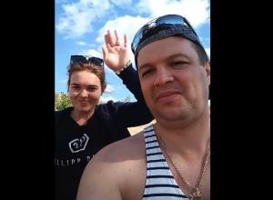 Опубликовано последнее видео погибшей на катамаране семьи майора Неграш