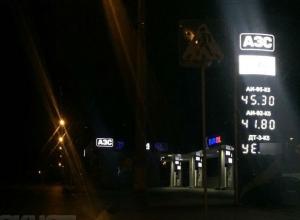 Бензин продолжает с бешеной скоростью дорожать в Волгоградской области