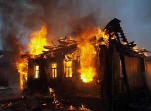 Один человек погиб и один обгорел в пожарах Волгоградской области