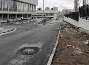 Мэрия начала уборку территории ДЮЦ после публикации «Блокнот Волгограда»