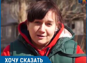 После зимы наш двор еще ни разу не убирали, - жительница Волгограда