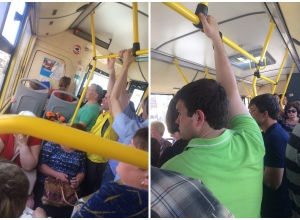 С началом жары автобусы стали часто ломаться и превратились в «парилки», – волгоградцы