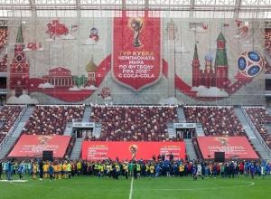 Кубок чемпионата мира по футболу прибудет в Волгоград 8 ноября