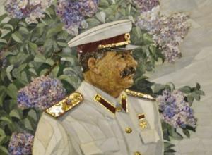 Полудрагоценный Сталин достался Волгограду в конце 50-х годов прошлого века