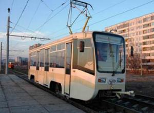 Город Волжский на один день оставят без трамваев