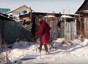 Пенсионерка стала бомжом без права на дом после страшного пожара в Волгограде