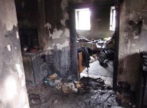 Мать сгоревших под Волгоградом маленьких детей вышла в магазин, а отец был на работе