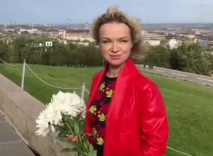 Прохор Шаляпин снял на видео гуляющую по Мамаеву кургану экс-супругу Джигарханяна