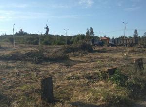 Волгоградские чиновники  признали - вместо парка будет автостоянка