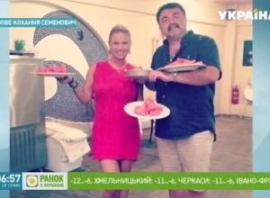 Украинские СМИ выдали телеведущего из Волгограда за соблазнившего Анну Семенович грека-миллиардера