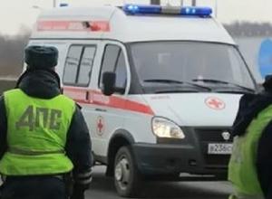На границе Волгограда водитель погиб, въехав в газовую трубу