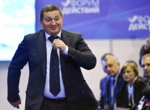 Волгоградский губернатор «завис» на 52 строчке в рейтинге влияния глав субъектов РФ