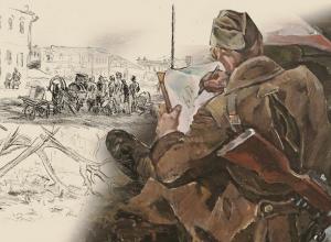 Волгоградцы увидят грандиозный проект о Сталинградской битве на основе фронтовых зарисовок