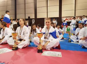 Волгоградская каратистка Елизавета Кривошлыкова взяла «золото» на чемпионате Европы