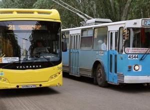 На западе Волгограда автобусы, вышедшие на замену троллейбусам, будут возить людей бесплатно