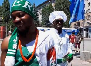 Нигерийские болельщики признались в Волгограде, что русских девушек любят все