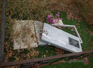 Задержан громивший два месяца могилы волгоградец