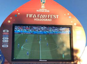 Россия-Уругвай и Саудовская Аравия-Египет: какой матч покажут в фан-зоне Волгограда