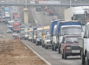 Волгоград «застрял» в пробках из-за тумана и аварий