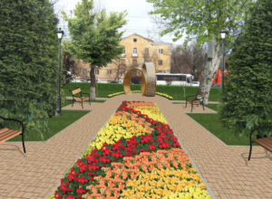 Романтичные арт-объекты  украсят площадку у дворца бракосочетаний в Волгограде