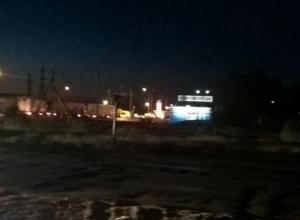 В Волгограде все выезды на Саратов встали в глухой пробке