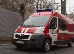 На юге Волгограда дотла сгорела Volvo