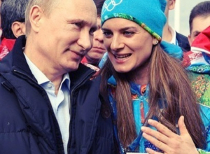 Елена Исинбаева подверглась атаке «троллей» из-за «Команды Путина»