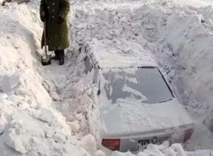До конца недели Волгоград завалит снегом