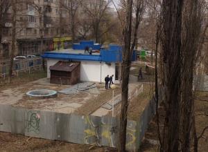 Предприниматель Волгограда вырубил зеленую зону и начал на ее месте строительство гостиницы